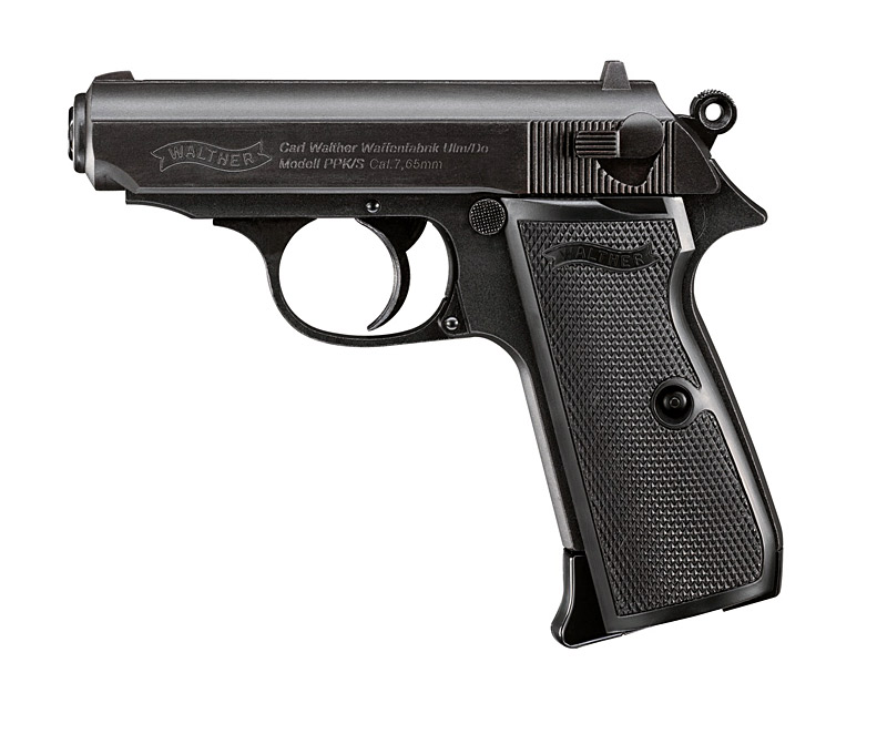 Walther PPK/S Blow Back, Kaliber 4,5 mm BB (P18) CO2 Pistole