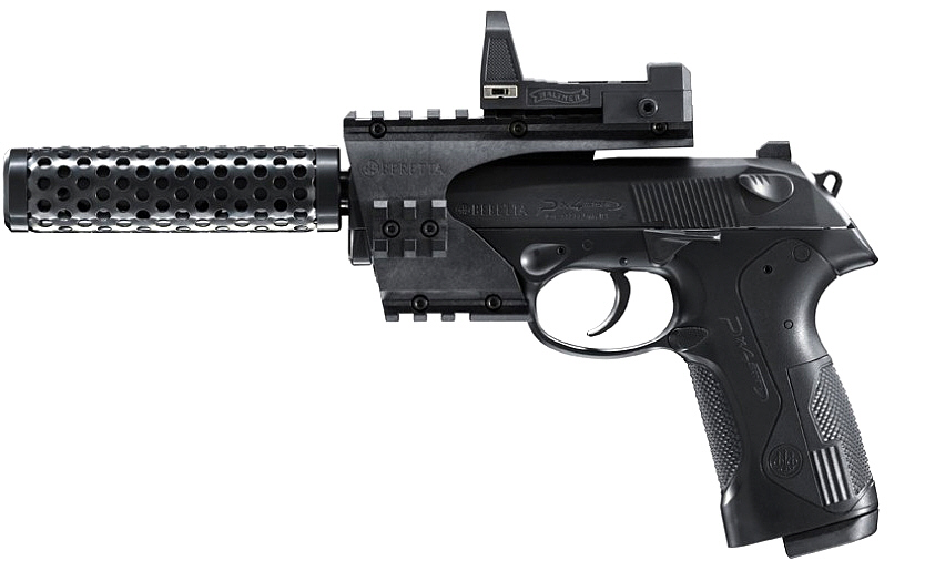 CO2-Pistole Beretta PX4 Storm Recon black cal. 4,5 mm BB