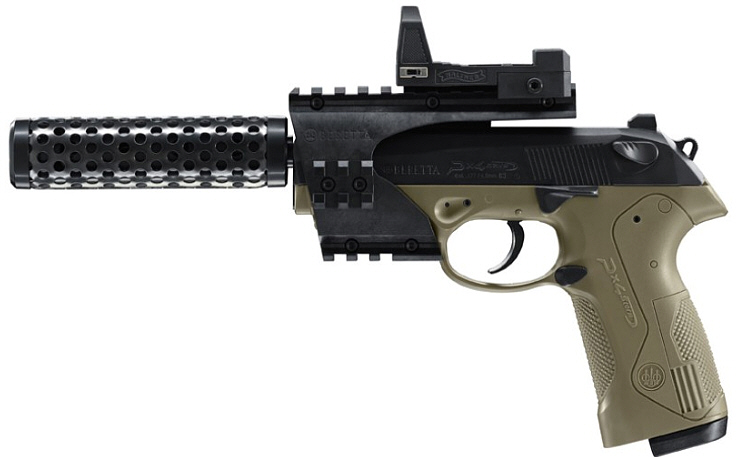 CO2-Pistole Beretta PX4 Storm Recon deb cal. 4,5 mm BB