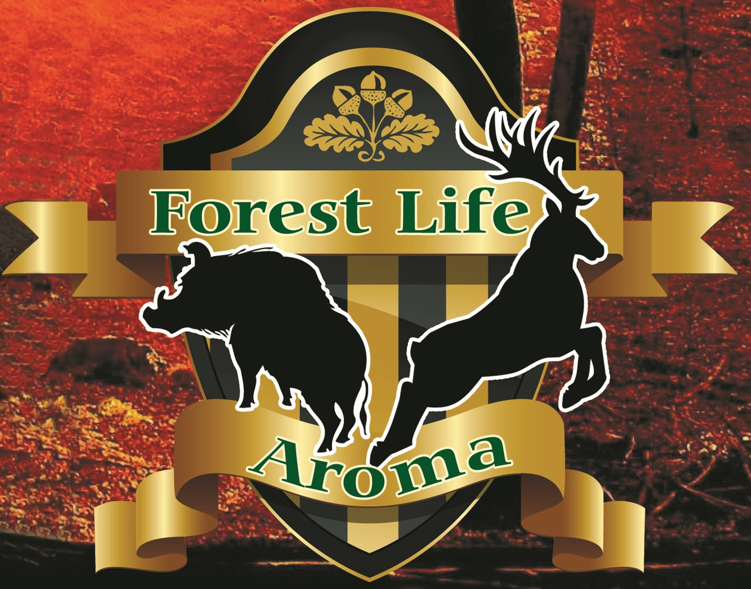 Forest Life kukorica aroma 1l