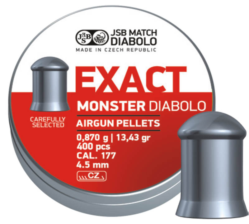 JSB Diabolo Exact Monster 4,5mm