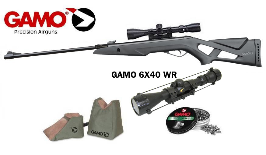 Gamo Shadow x 1000 (4,5mm) - Gamo 6x40 WR Szett