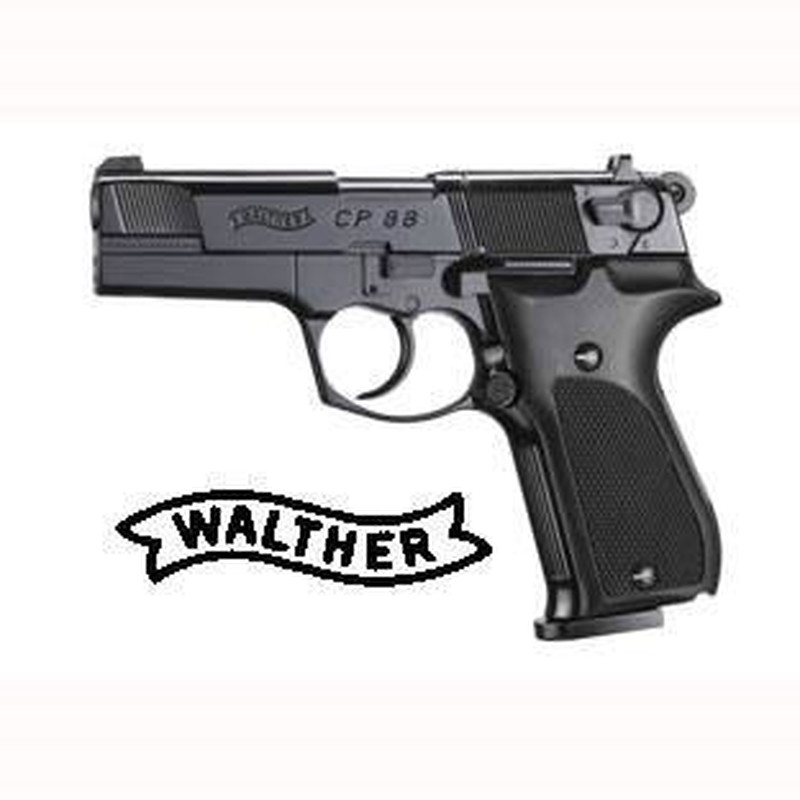 "WALTHER CP 88 4"" BR. PL. 4,5"